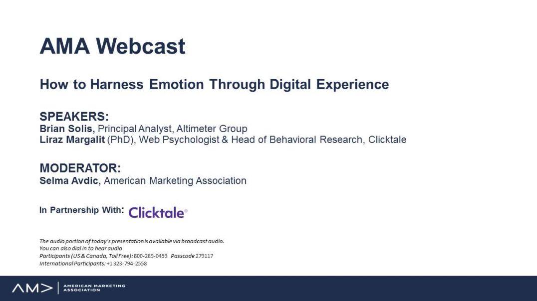 Harness Emotion in Digital Marketing