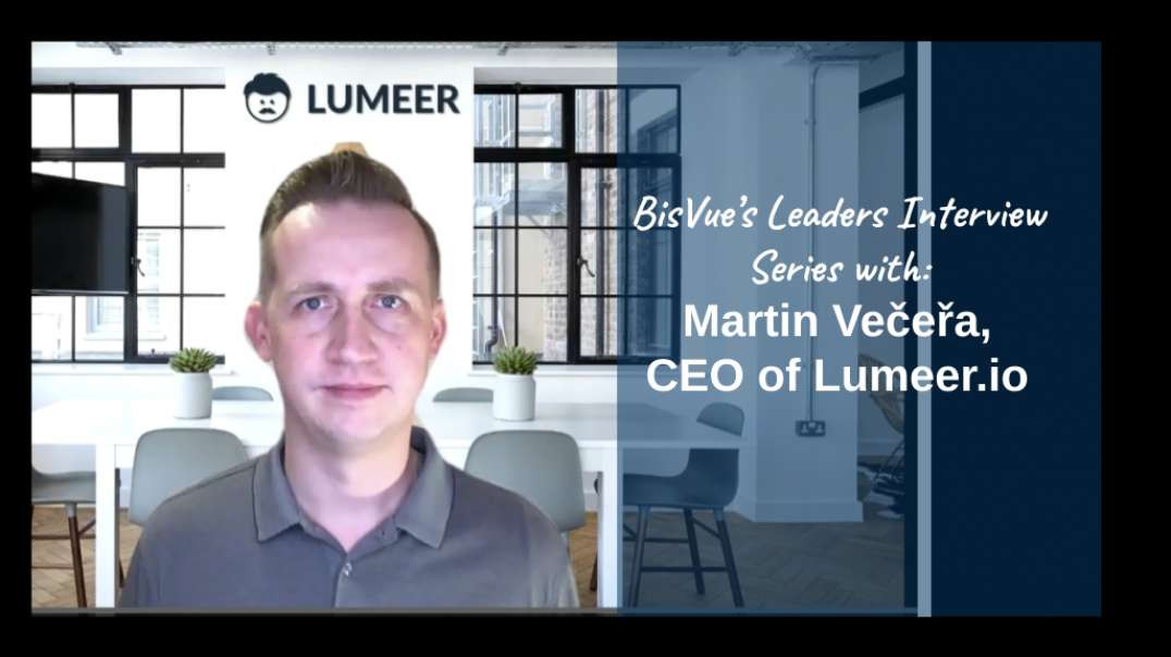 Interview with Martin Večeřa, CEO of Lumeer.io, a Leading Work Management and Collaboration Tool