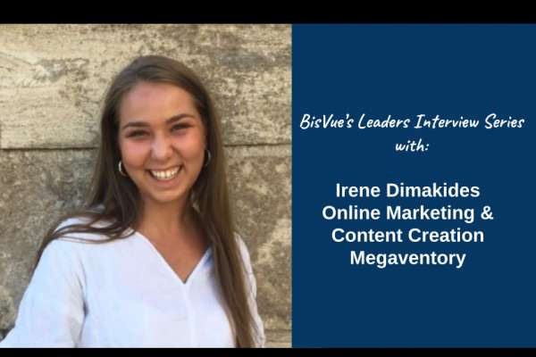Interview with Irene Dimakides, Online Marketing and Content Creation for Megaventory, a Leading Inventory Management Software