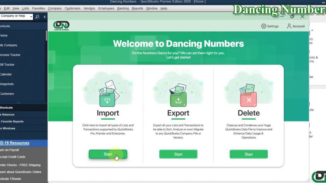 How to Connect Dancing Numbers With QuickBooks Desktop_