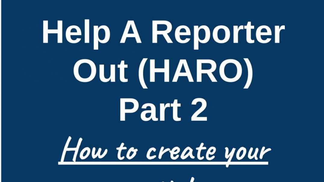 How to Create, Publish and Promote Your HARO Article