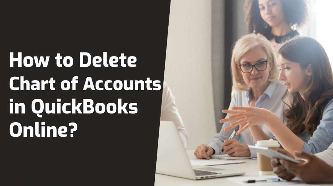 How to Delete Chart of accounts in QuickBooks Online?