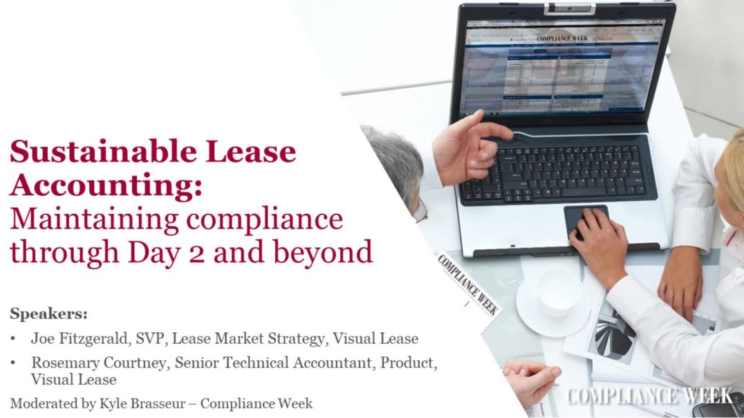 On-demand webinar: Sustainable lease  accounting:  Maintaining compliance through Day 2 and beyond