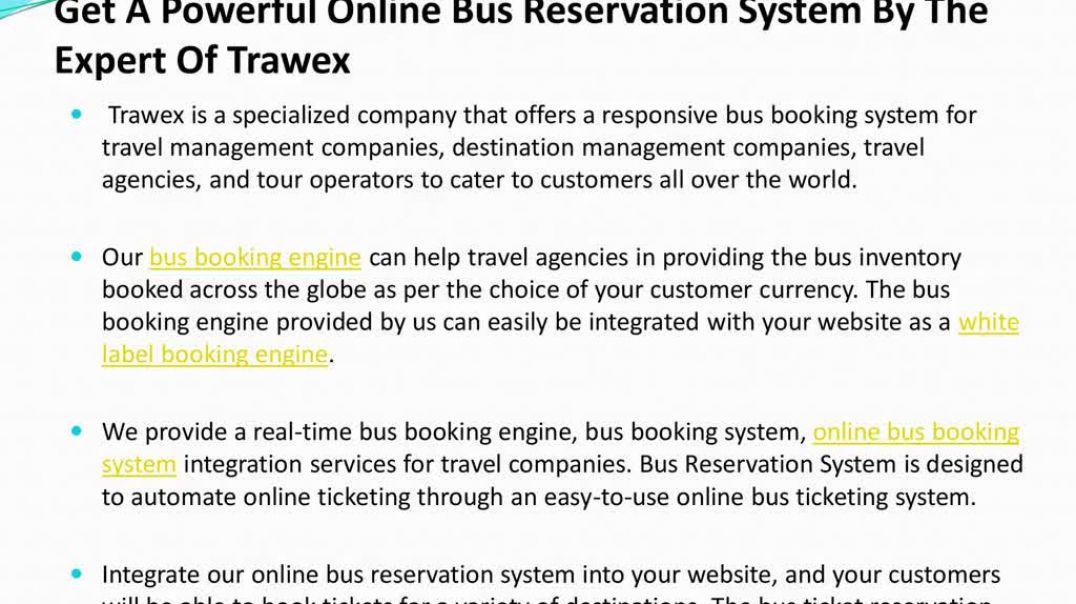 PPT - Online Bus Reservation System