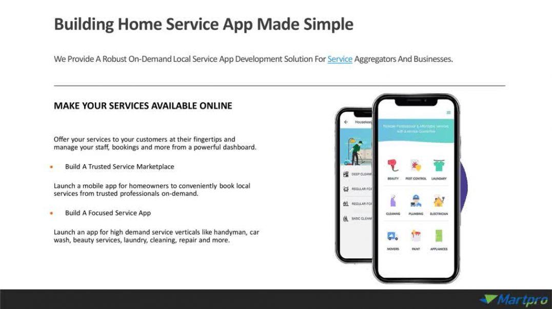 Home Services App Development