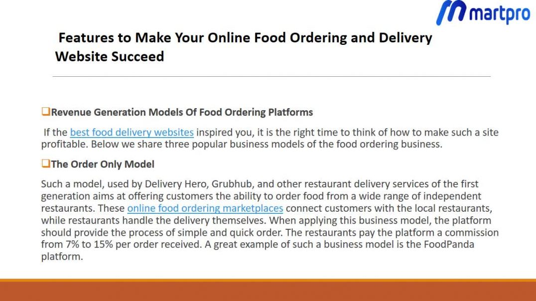 Build Advanced Food Ordering Delivery Website With Best Features