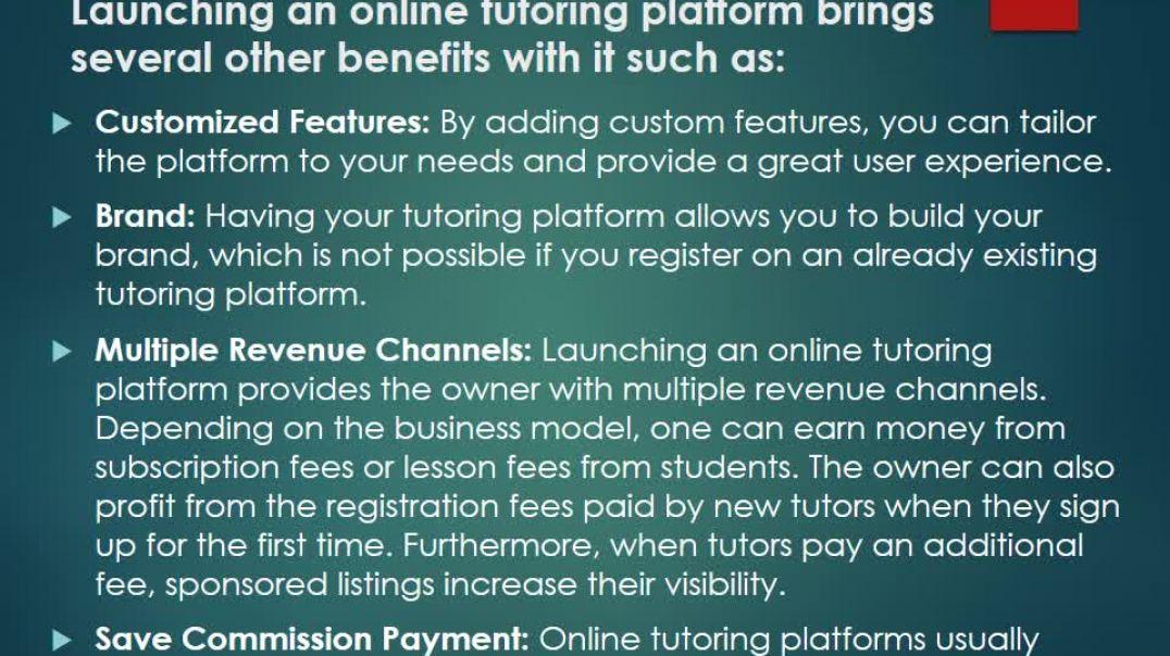How To Build An Online Tutoring Platform
