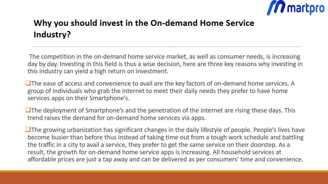 On-Demand Home Services  Next Big Trend