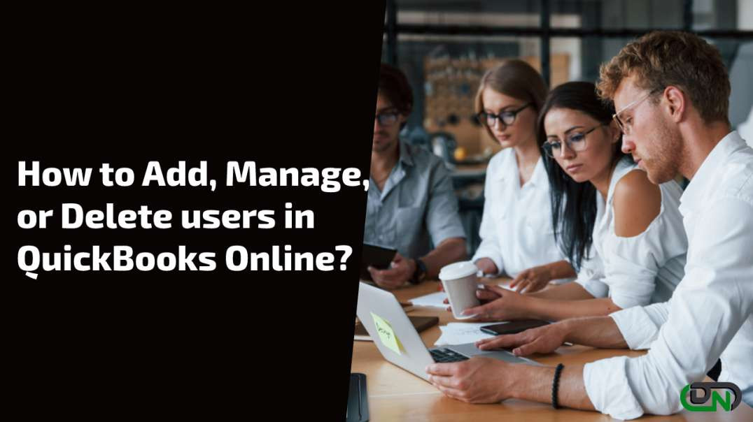 How to Add, Manage, or Delete users in QuickBooks Online?